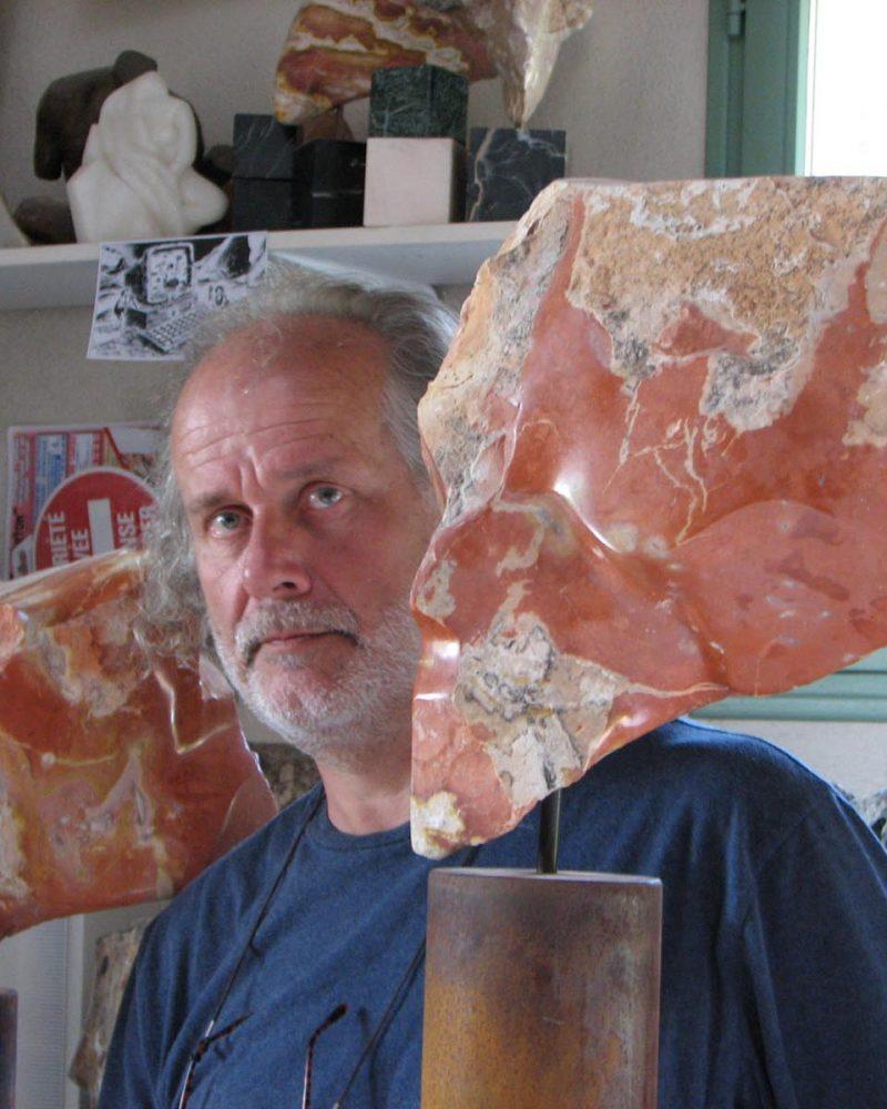 Les sculptures d'Olivier Bataille représentent la chair.